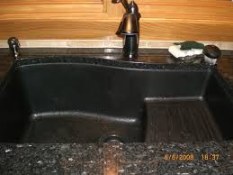 i have the swanstone ascend and love it i have had no problems with it and it is easy to keep clean also have a small swanstone bar sink