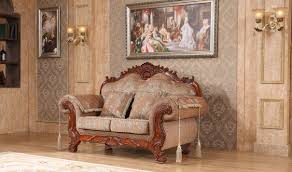 Traditional Living Room Sets 689 Verona Traditional Living Room Set In Cherry By Meridian