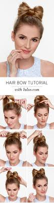 How To Make A Hair Style best 25 hair bow hairstyles ideas only bow 3808 by wearticles.com