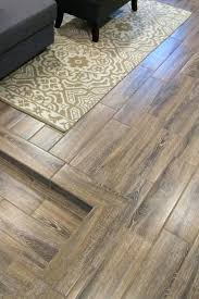 best option for uneven basement floors ceramic tile that looks like wood floor laying over concrete