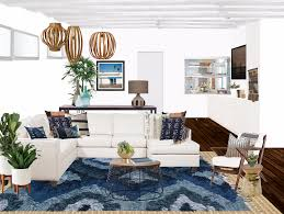 Decorist sf office 7 Showhouse Spotted Jamie Chung Living Room Decorist Jamie Chungs Bohemian Living Room Makeover Decorist