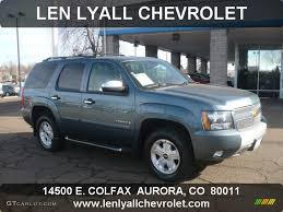 2008 Blue Granite Metallic Chevrolet Tahoe Z71 4x4 #59859785 ...