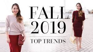 <b>Fall</b> / <b>Autumn 2019 Fashion</b> Trends | Trends You NEED To Know ...
