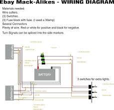 wiring diagram on mack fuel pump Mack Truck Wiring Lighting Rd Mack Truck Wiring Diagram