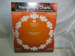 Details About Ron Green Transposing Charts Transpose Music For All Instruments And Band