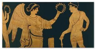 Олимпийские игры история от Древней Греции до наших дней  Участники пользовались уважением а победители награждались оливковым венком Древние Олимпийские игры