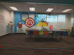 iron man office. Ping Pong Breakroom With A Work-in-progress Captain America Vs. Iron Man Office