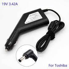 19 V 3.42A 65 W Laptop araba şarjı Toshiba Laptop Için Şarj Cihazı Netbook  Not Defterleri Güç Adaptörü|Dizüstü Bilgisayar Adaptörü