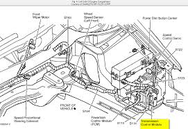how to replace tcm transmission control module on chrysler lhs 2001 graphic