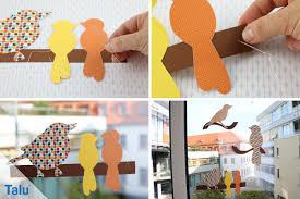 Herbst Fensterdeko Selber Machen Anleitung Und Kreative Vorlagen