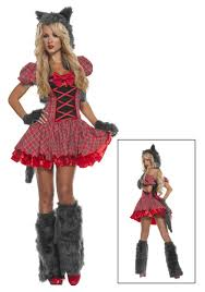 exclusive y red riding wolf costume