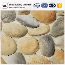 craft coastal river rock stones exterior and interior wall decoration
