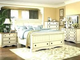 Distressed white bedroom furniture Cottage Wood Bedroom Sets ...