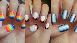 12 Easy And Interesting Nail Art Designs – Young Craze