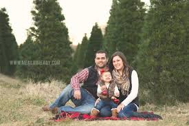 Large Family Christmas Card Photo In Christmas Tree Farm Stock Christmas Tree Farm Family Photos