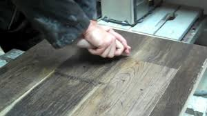 how to distress and authentically handse a hardwood floor make new wood look old you