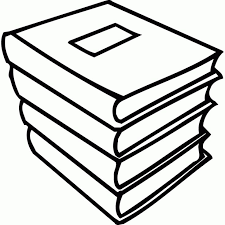 coloring pages for stack of school books - Coloring Point | Coloring ...