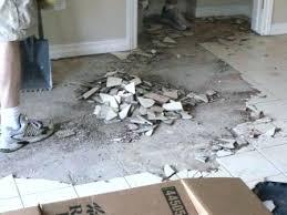 how to remove vinyl tiles from concrete floor remove tile from concrete how to remove commercial
