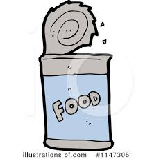 canned food clipart. royalty-free (rf) canned food clipart illustration #1147306 by lineartestpilot