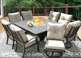 8 seat patio dining set 8 chair patio dining set 9 piece patio 8 person round