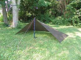 How To Make A Tent How To Make A Diy Silnylon Tarp Ebay