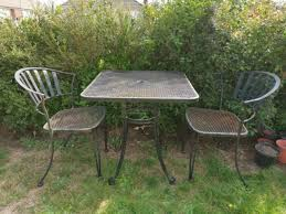 patio table and chairs 2 seater set