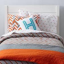 Little Prints Kids Bedding (Orange)   The Land of Nod &  Adamdwight.com
