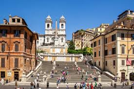 Warum bezeichnet man rom als ewige stadt? Bilder Spanische Treppe In Rom Italien Franks Travelbox