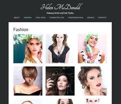 make up artists exles makeup artist template wordpress