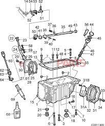 Esaabparts saab 900 transmission parts transmission manual gear box case oil pan