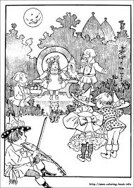 Small Picture Wizard of Oz coloring picture