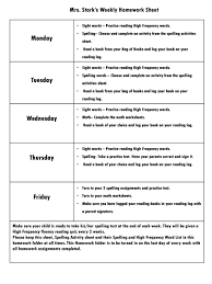 Weekly Homework Mrs Starks Weekly Homework Sheet Ppt Video Online Download