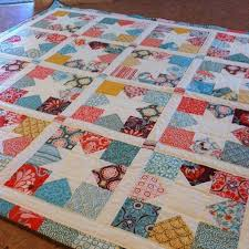 20 best Charm square quilt ideas images on Pinterest | Ceilings ... & I'm liking this charm square stars quilt. Adamdwight.com