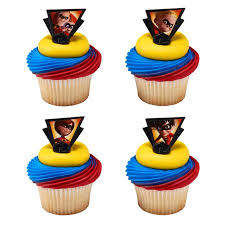 Incredibles 2 Dynamic Family Cupcake Cake Rings Birthday Party