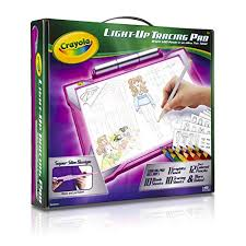 Crayola Light-up Tracing Pad Pink, Coloring Board for Kids, Valentine\u0027s Day Gift Birthday Gifts 5 Year Old Girls: Amazon.com