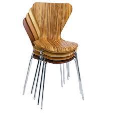... Mesa Wood Banquet Stacking Chair