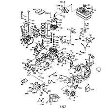Tecumseh model LH318SA-156554G engine genuine parts