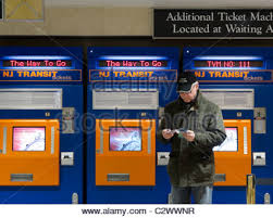 Nj Transit Ticket Vending Machines Extraordinary New Jersey Transit Ticket Machines At Penn Station New York City