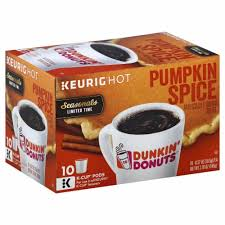 Save $1.00 with a 88 count bulk box. Ralphs Dunkin Donuts Pumpkin Spice K Cup Pods 10 Ct
