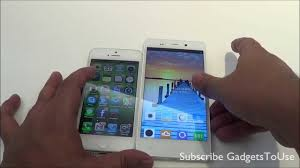 Gionee Elife E6 VS iPhone 5 Hands on ...