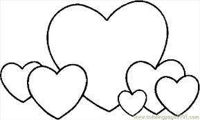 Small Picture Printable Valentine Hearts Coloring Pages Pic Www Coloringpages