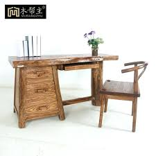 elegant solid wood desk real wood computer desks top all wood computer desk solid wood desk