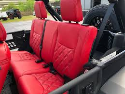 leather interior for a montreal jeep wrangler owner