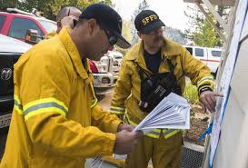 the scene as wildfires devastate northern california s wine region