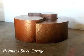 Biomorphic Coffee Table Hermans Steel Garage Acquisitions By Henredon 3 Piece Biomorphic