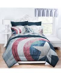 Marvel Captain America Lifestyle Shield Twin/twin Xl Comforter Multi