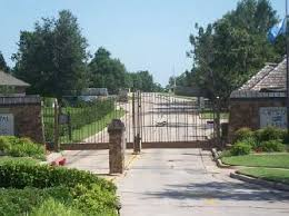 subdivisions with gated entry