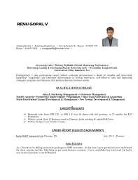 CV for Experienced person - Executive Level. RENU GOPAL V Andipattikottai   Aalamarathupatti po  Aravakkurichi tk ...