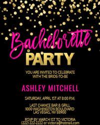 Invitation For Party Bachelorette Party Invitations Zazzle
