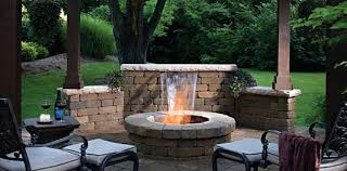 Backyard Fireplace Designs Outdoor Patio Designs With Fire Pit